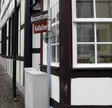 In Bad Essen die Kußallee, Osnabrücker Land