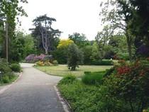 Der Bürgerpark am Gertrudenberg in Osnabrück