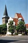 www.osnabrueck-fuehrungen.de, Katharinenkirche, im Vordergrund der Ledenhof