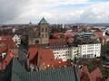 Aussicht Turm Marienkirche auf den Dom, www.osnabrueck-fuehrungen.de